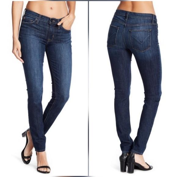 da6702a7a17c9 Hudson Natalie Midrise Skinny Jeans in Wellbred